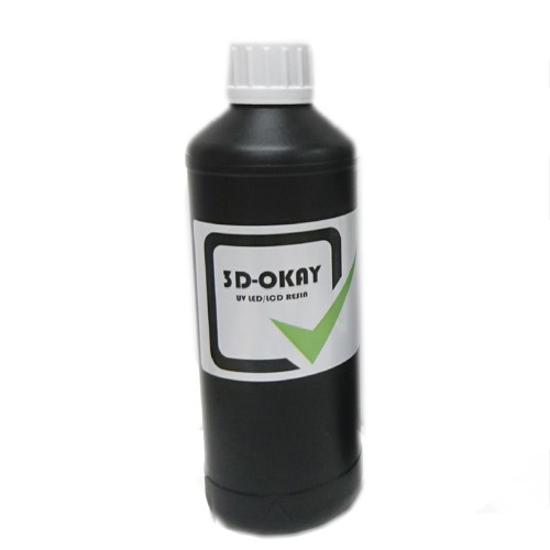Živica/Resin 3D-Okay UV biela - 500ml