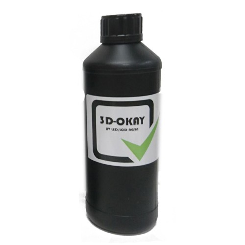 Živica/Resin 3D-Okay UV čierna - 500ml