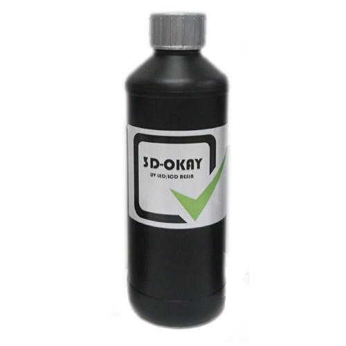 Živica/Resin 3D-Okay UV šedá - 500ml