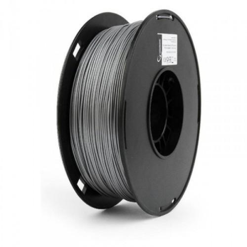 GEMBIRD Náplň 3D 53mm PLA/1.75mm/1kg Silver