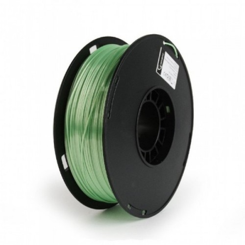 GEMBIRD Náplň 3D Polymer 1.75mm/1kg Zelená