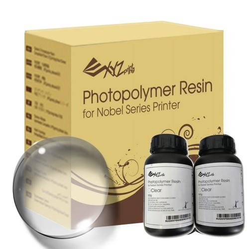 Živica pre XYZ Nobel/resin transparentná farba, 2 fľaše (2 x 500ml)