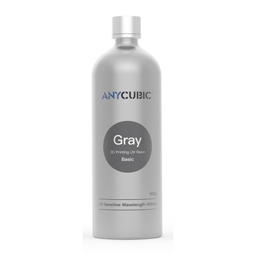Živica/Resin UV Anycubic Šedá - 500ml