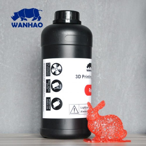 Živica/Resin Wanhao UV Červená - 1000ml