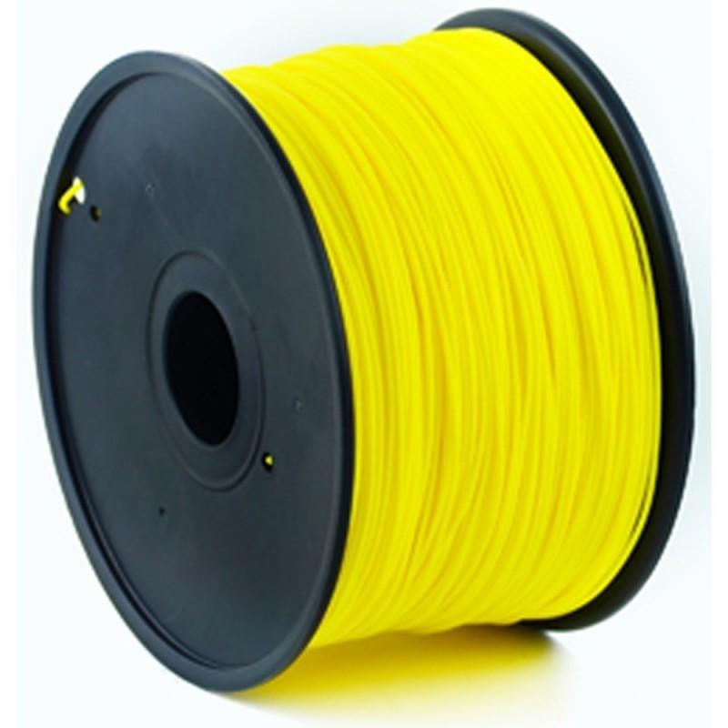 GEMBIRD Náplň 3D 100mm PLA 1.75mm 1kg Yellow