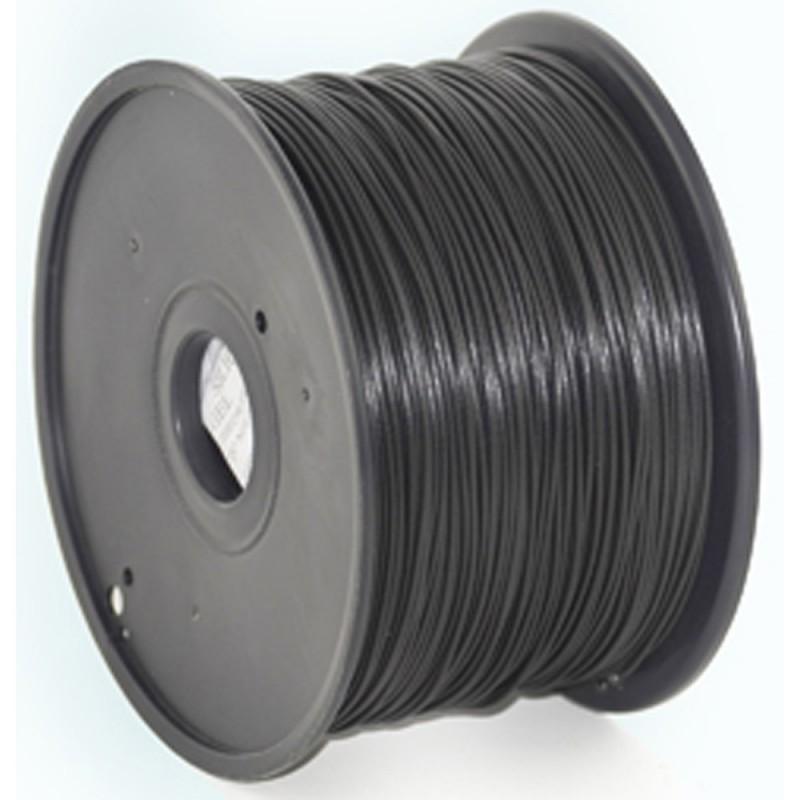 GEMBIRD Náplň 3D 100mm PLA 1.75mm 1kg čierna