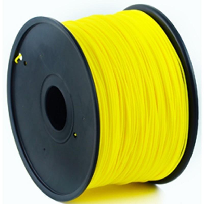 GEMBIRD Náplň 3D 100mm ABS 1.75mm 1kg žltá