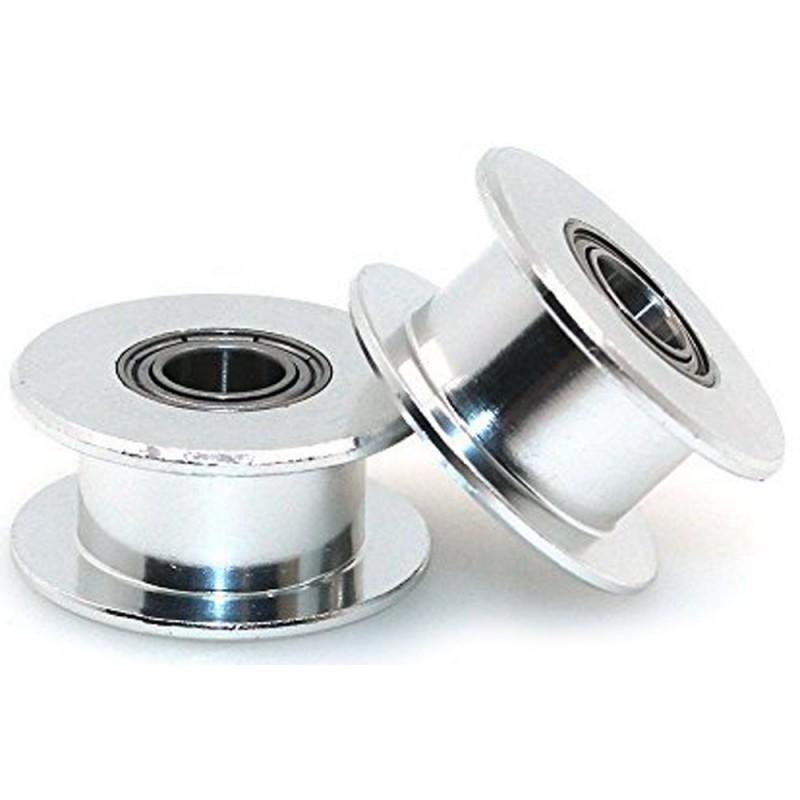 Napínacie remenice GT2 s ložiskom 3mm bez ozubenia pre 5 mm remeň