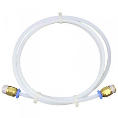 Teflónová tuba s bowdenom 2 x 4 mm