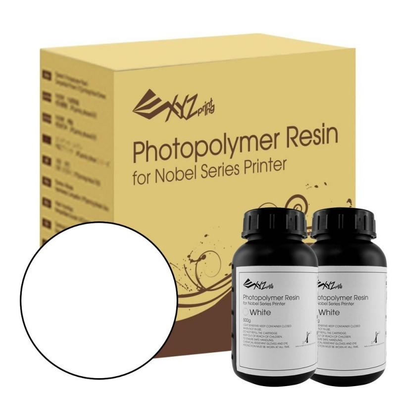 Živica pre XYZ Nobel/resin biela farba, 2 fľaše (2 x 500ml)